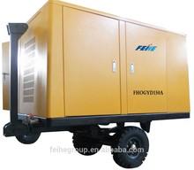 Industrial electro Single Screw Portable air Compressor FHOGYD150A 565 CFM