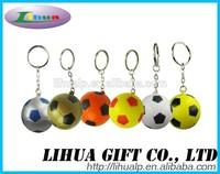 PU Anti Stress Ball Keyring