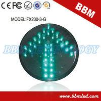 green led arrow traffic signal light