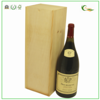 Magnum Sliding Lid Wooden Wine Box
