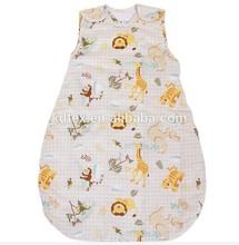 Hot Sales 100% Cotton Baby Children Blanket Sleeping Bags