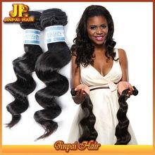 JP Virgin Hair Unprocessed No Fiber Double Drawn Hair Extensions Indian