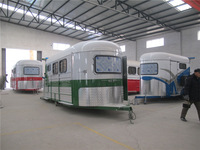 2015 sale horse trailer for 3 horse car trailer