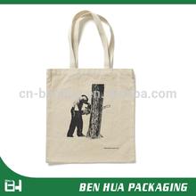 Customized Design Logo Eco Cotton Canvas Bag