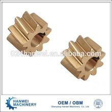 Customize precision gears brass gears