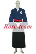 Fantasia anime vestido lolita- venda quente samurai champloo jin anime cosplay traje trajes baratos c0628
