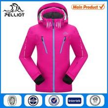 Custom XXL Women Ski Jacket with European Size