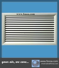 SRGS made in china whole sale single deflection aluminum return air filter grille special size available for hvac system