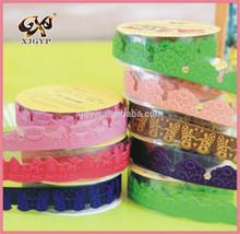 decorate sticker/ adhesive tape/PU lace tape