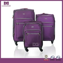 Alibaba Europe Purple Jacquard Protective Case Luggage