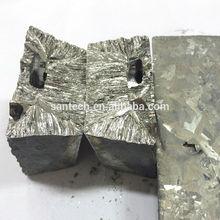 Metal Tellurium Plate/7N Tellurium metal Ingot