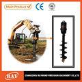 hidráulica de perforación de la tierra para soldado de instalación de la pila