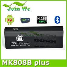 joinwe MK808B Plus TV stick Android 4.4 MINI PC Amlogic S805 Quad core Android TV Dongle