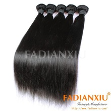 2015 hot grade 6A straight human hair extensions uk