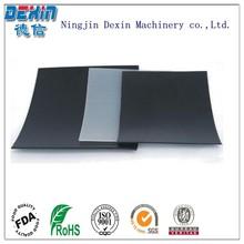 Extruded rigid glossy grey pvc sheet/dark pvc sheet/pvc sheet black