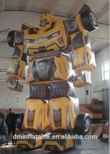advertising inflatable optimus prime