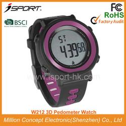 Waterproof Pedometer Watch Calories Counter Water Sports Equipment