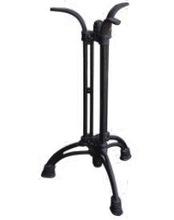 HS-A087 classical furniture accessory black 3legs cast iron table leg powder coated table base new antique furniture wholesaler