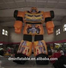 Inflatable Optimus Prime Transformers Advertising