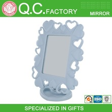 Wholesale plastic mirror makeup,light mirror frame,a mirror