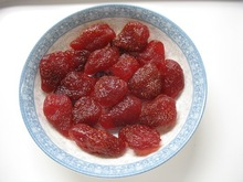 Dried strawberry dehydrated fruit best selling products strawberry