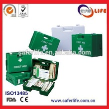 Emergency ABS plastic big capacity First Aid Box for Work OSHA ANSI