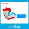 portable 123 pieces office first aid medical supplies safety kit for 20 persons