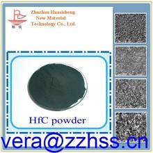 cermet Hafnium carbide powder ceramic alloy cutting tools thin film HfC carbide powder using in coating, hafnium carbide powder