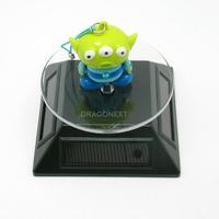 Good Quality Crystal Bracelet Turntable Solar Rotating light Display Rotating 360 Degree Solar Base