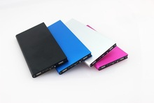 ultra thin 8000mah slim power bank with led torch for mobile iphone/ipad