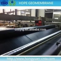HDPE geomembrane dam liner flexible waterproof material plastic film