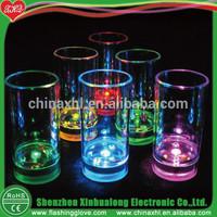 Glass Tea Cup LED Light Up Beer Mug