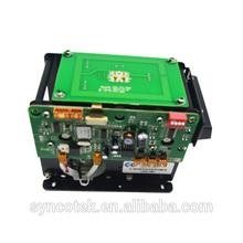 Kiosk motor card acceptor module with RFID card reader+barcode scanner optional