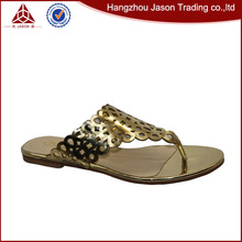 Top sale guaranteed quality branded ladies sandals