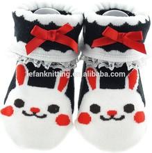 cartoon new born cotton kids socks
