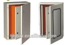 Plexiglass door and Inner door metal distribution box waterproof electrical enclosure