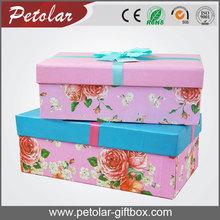 pretty customized elegant tissue paper box