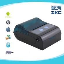 zkc5804 mini bluetooth receipt printer supporting barcode/2D barcode
