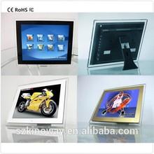 Wholesale 12 Inch Screen Acrylic battery powered digital photo frame