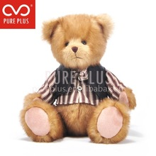 Não exaggerate e urso de peluche bonito. Silicone bonecas reborn bebê para venda