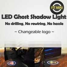 Car Door Light LED Ghost Shadow Light case for Mini