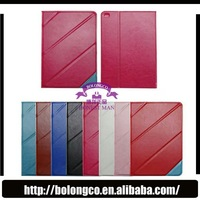 standing leather tablet transformer case for iPad 5 Air with stylus holder