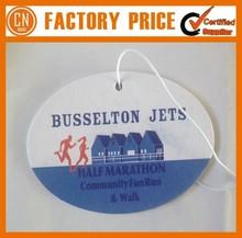 Bulk Cheap Custom Logo Design Paper Freshener Card