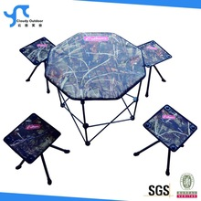 outdoor folding camping set with carry bag