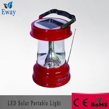 solar portable led light with USB charger/reading light 3w CE ROHS FCC 2years warranty time