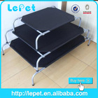 hot sale new design metal frame elevated dog bed