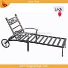 Comfortable Sunbed Sun aluminum folding Lounger