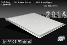 2x2 ultra slim UL DLC led panel light 36w high lumens with 3 years warranty