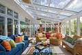 alta qualidade de tratamento de madeira moldura de alumínio de inverno bancados jardim casas de vidro