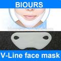 çince sıkılaştırıcı ve sliming çene maskesi yapmak v şekli yüz
